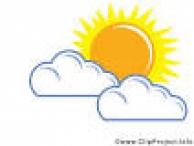 Wetter Vorsage