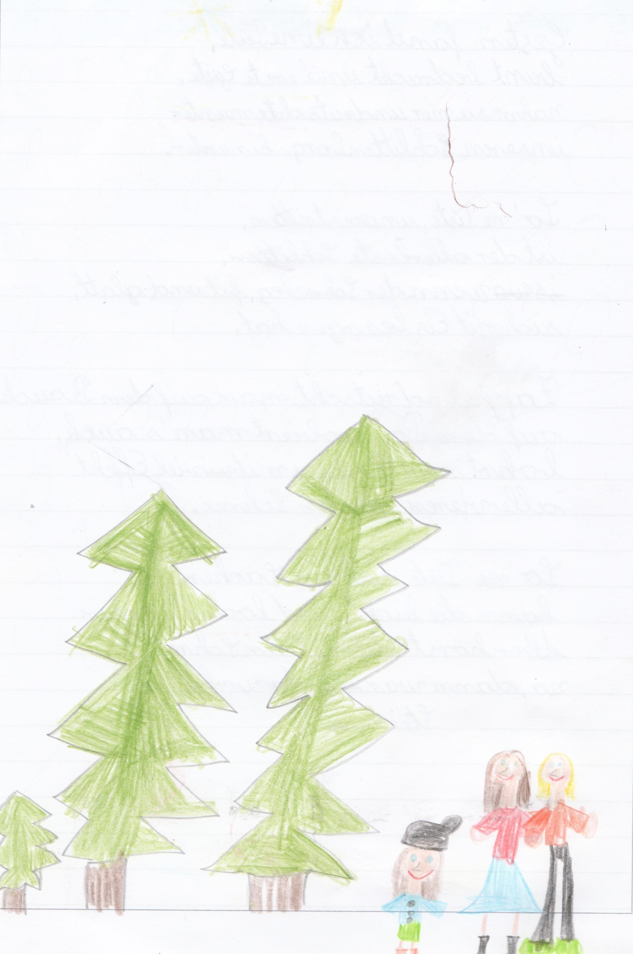Ein kleiner weihnachtsbaum gedicht