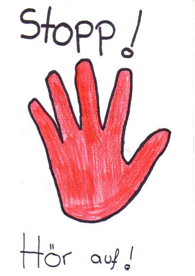 Arbeitsblatt Vorschule kaninchen steckbrief gemälde : Klassenzeitung 4b - Schuljahr 2011/12 / Die Stopp-Hand ...