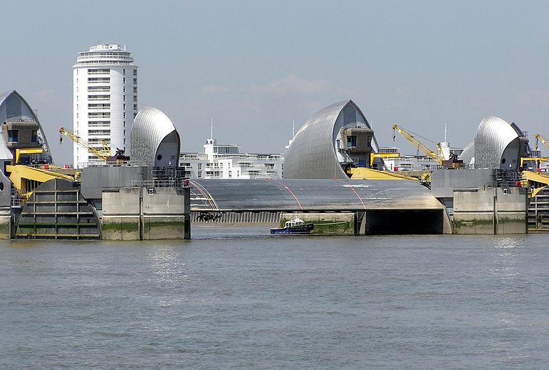 Großbritannien und Nordirland / The Thames Barrier ...